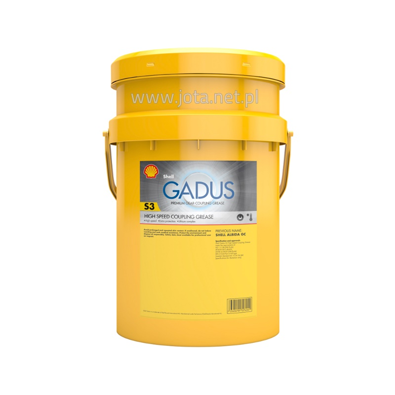 Shell Gadus S3 High Speed Coupling Grease - 18 kg