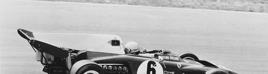 Arturo Merzario driving Ferrari in the 1972 British Grand Prix UKAcquired1972