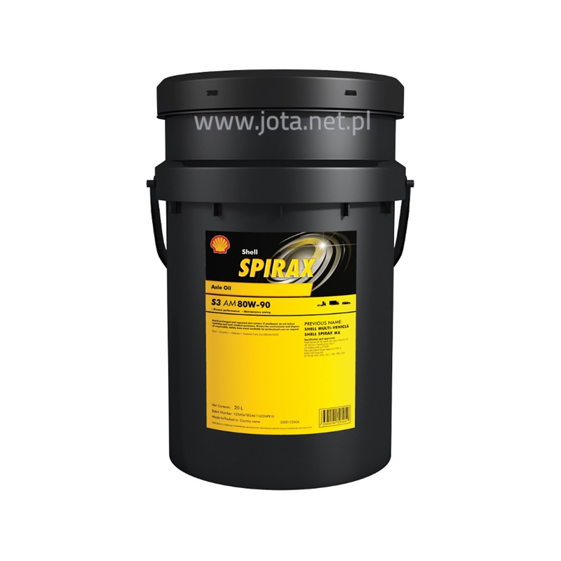 Shell Spirax S3 AM 80W-90 - 20L
