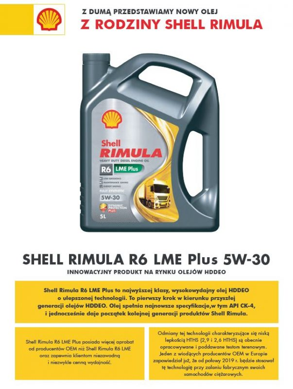 Shell Rimula R6 LME Plus